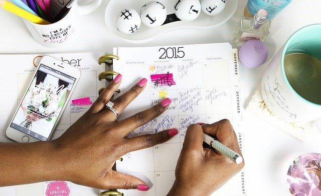 Calendar Agenda Planner Appointment