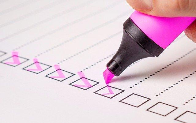 Checklist Check List Marker