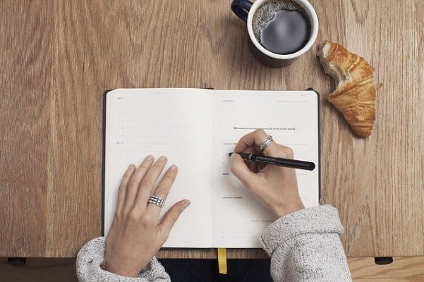 Coffee Write Table Notebook