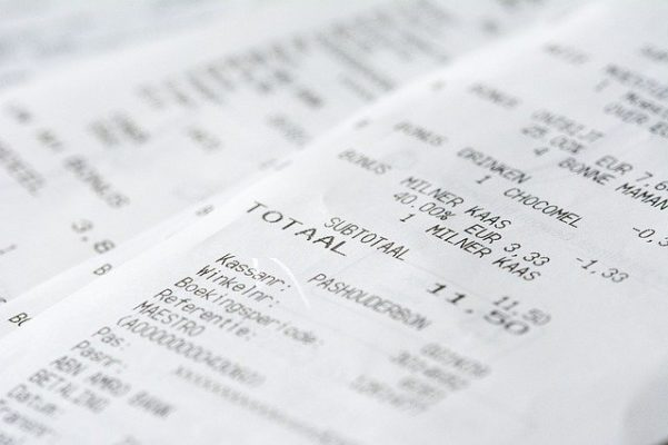 Receipt Money Messages Currency